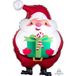 """Μπαλόνι Foil """"Santa Claus"""" 50εκ. - Κωδικός: A4010801 - Anagram"""