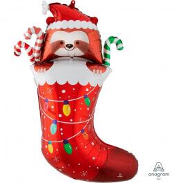 """Μπαλόνι Foil """"Sloth Stocking"""" 78εκ. - Κωδικός: A4204401 - Anagram"""