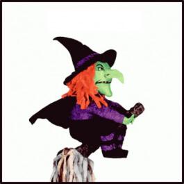 """Πινιάτες - Πινιάτα Χειροποίητη """"Witch"""" - Κωδικός: M12943"""