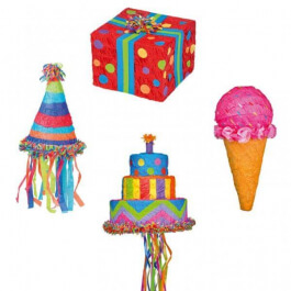 """Πινιάτες - Πινιάτα Χειροποίητη """"Birthday Cake"""" - Κωδικός: M20032C"""