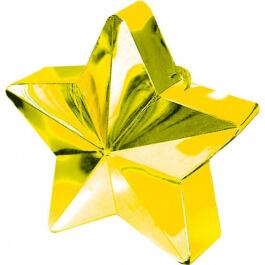 Διακοσμητική βάση αστέρι για μπαλόνια – Χρυσό - Κωδικός: A11780019 - Anagram