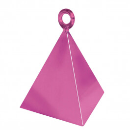 Διακοσμητική βάση πυραμίδα για μπαλόνια - Φούξια - Κωδικός: 14402 - Anagram