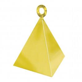Διακοσμητική βάση πυραμίδα για μπαλόνια - Χρυσό - Κωδικός: 14407 - Anagram