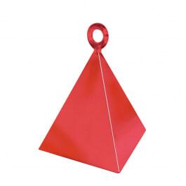 Διακοσμητική βάση πυραμίδα για μπαλόνια - Κόκκινο - Κωδικός: 14417 - Anagram