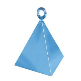 Διακοσμητική βάση πυραμίδα για μπαλόνια - Σιέλ - Κωδικός: 14406 - Anagram