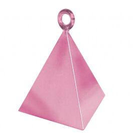 Διακοσμητική βάση πυραμίδα για μπαλόνια - Ροζ - Κωδικός: 14401 - Anagram